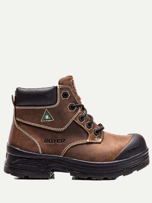 "Royer 6"" 4D Metal-Free Boot"