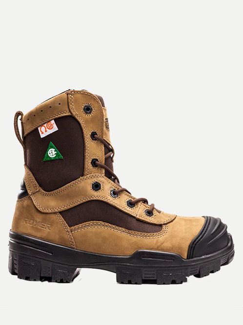 "Royer 8"" Corduro Abrasian Resistant Boots"