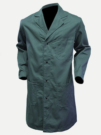 Big Al Poly Cotton Shop Coat