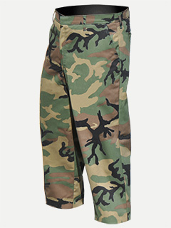 Big Al Poly Cotton Camouflage Work Pants