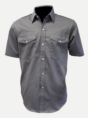 Big Al Short Sleeve Poly-Cotton Work Shirt