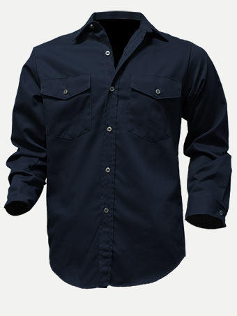 Big Al Poly Cotton Work Shirt