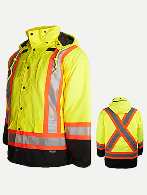 Terra Hi-Vis 7 in 1 Winter Jacket
