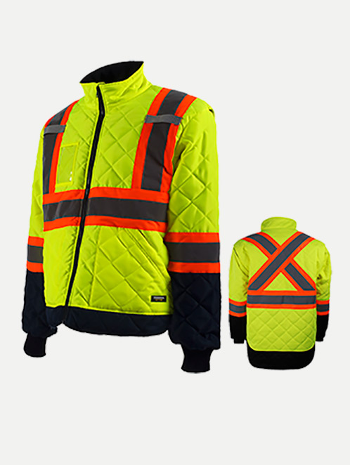 Terra Hi-Vis Lined Freezer Jacket