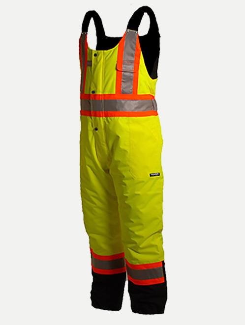 Terra Hi-Vis Insulated Waterproof Overalls