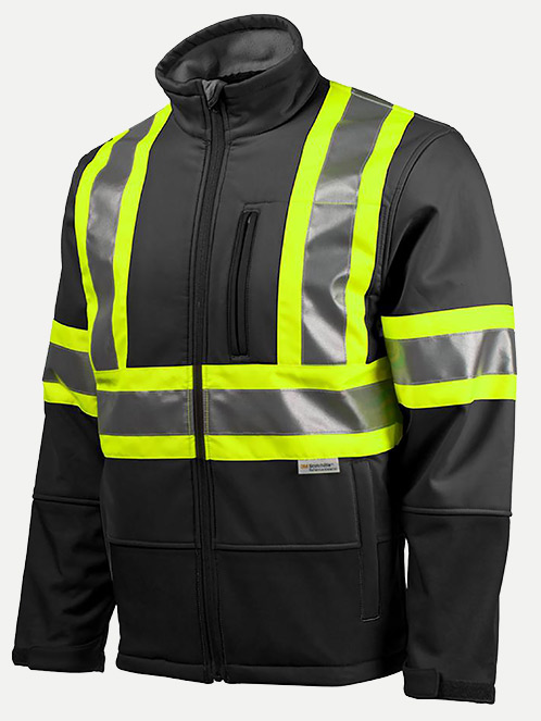 Terra Hi-Vis Soft Shell Jacket
