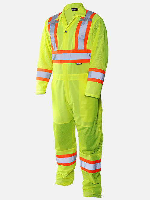 Terra Hi-Vis Traffic Control Coverall