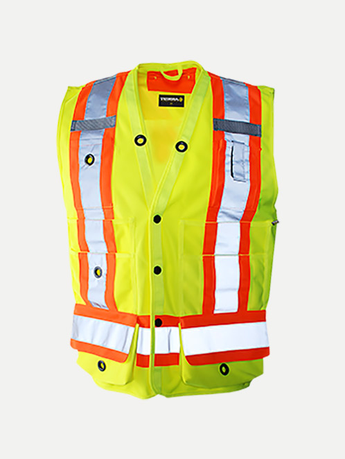 Terra Hi-Vis Surveyor's Vest