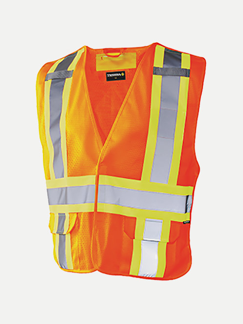 Terra Hi-Vis Reflective 5 Point Tear Away Vest