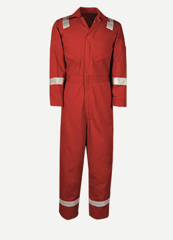 Big Bill 7 oz Westex™ Ultra Soft® Oilfield Hiviz Coverall