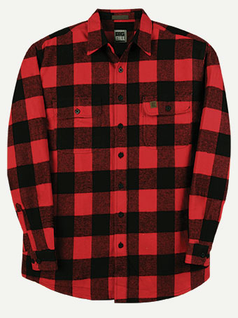 Big Bill 9 Oz. Brawny Flannel® Heavy Weight Shirt