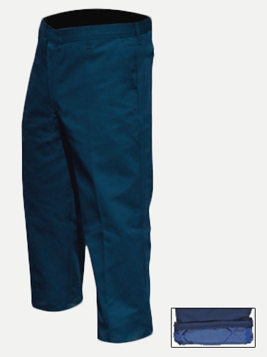 Big Al Navy Lined Work Pants 65% poly 35% Coton
