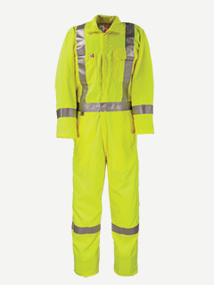 Big Bill 7 oz Tencate Tecasafe Plus Unlined Hiviz FR Coverall