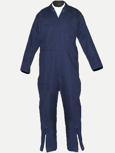 Big Al Coverall with leg zipper