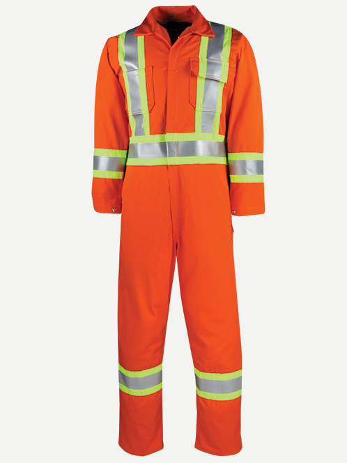 "Big Bill 9 oz. Westex Ultrasoft FR Coverall 4"" Reflective Bands"