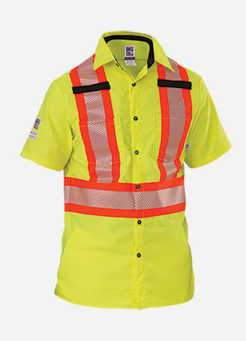 Big Bill Hi-Visibility Ripstop Short Sleeve Work Shirt