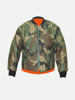 Big Al Camouflage Reversible Jacket