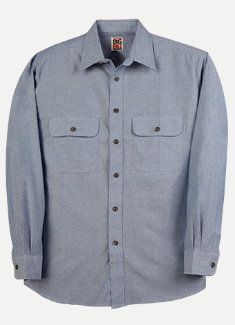 Big Bill Long Sleeve Chambray Shirt