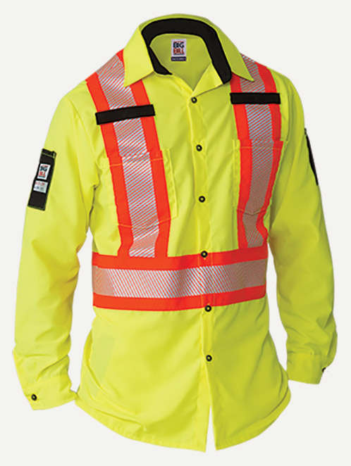 Big Bill Hi-Visibility Ripstop Work Shirt
