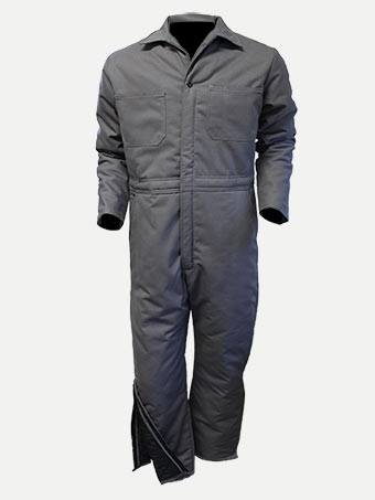 Big Al Lined Coverall with leg zipper