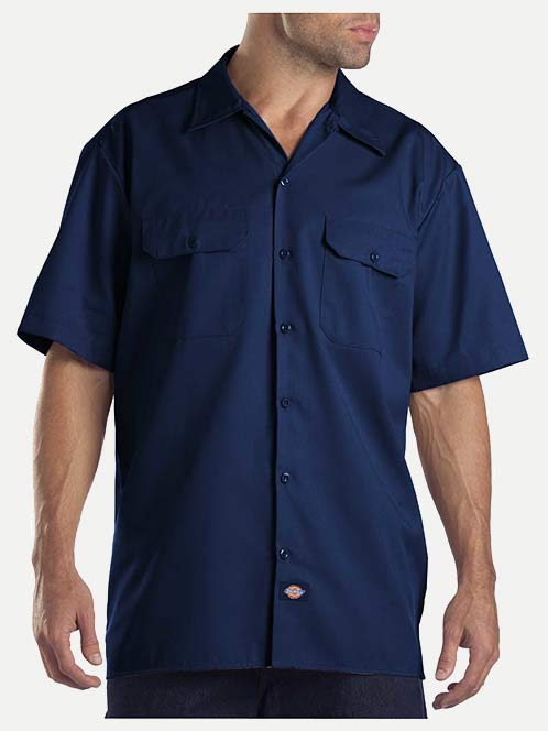 Dickies Original Fit Short Sleeve Button Front Work Shirt
