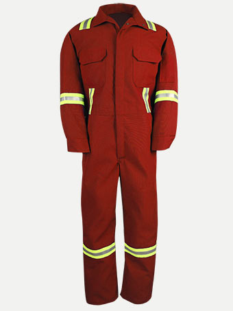 Big Bill 6 oz Nomex® IIIA® Unlined Deluxe Hiviz Coverall