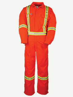Big Bill 7 oz Tencate Tecasafe® Plus Unlined HV Coverall