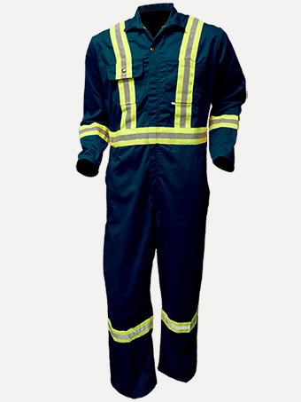 "Big Al Hiviz 2"" Reflective Grosgrain Coverall"