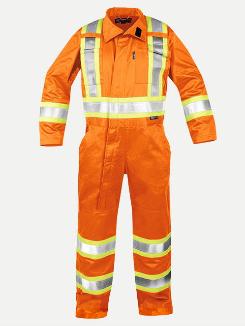 Flame Resistant Deluxe Coverall