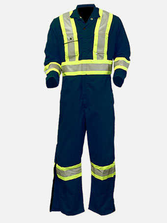 "Big Al Hiviz 4"" Reflective Grosgrain Coverall"