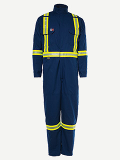 Big Bill 6 oz Lincoln Dual-Link Unlined HV Coverall