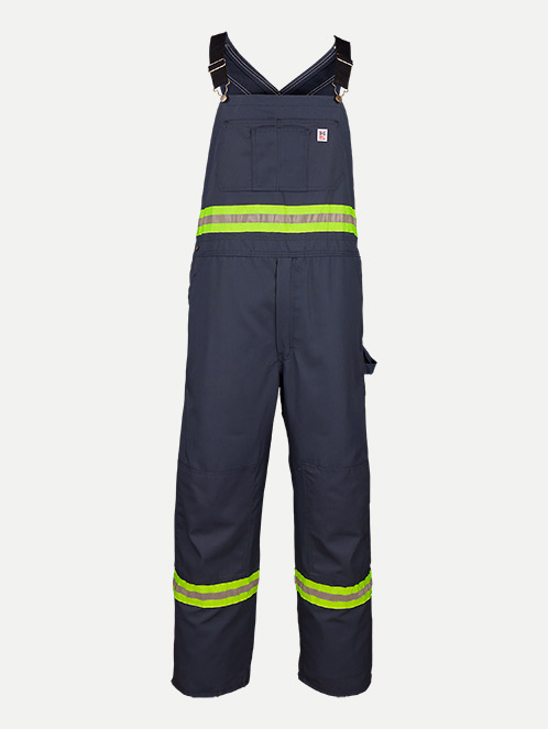 Big Bill Enhanced Visibility Unlined Twill Workwear Bib Overall