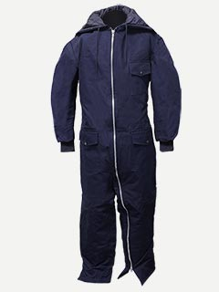 Big Al Duck Heavyweight Coverall With Hood and Full Body Zip