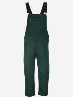 Big Bill 24 Oz. Green Wool bib overalls
