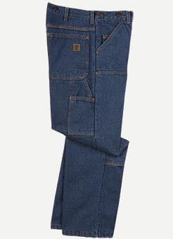 Big Bill Logger Fit Heavy Duty Jeans With Double Reinforced Knee