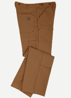 "Big Bill Jeans Ultra Robuste En ""Duck"" Coupe Logger (Genoux Doub"