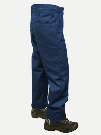Big Al Navy Work Pants 100% Coton