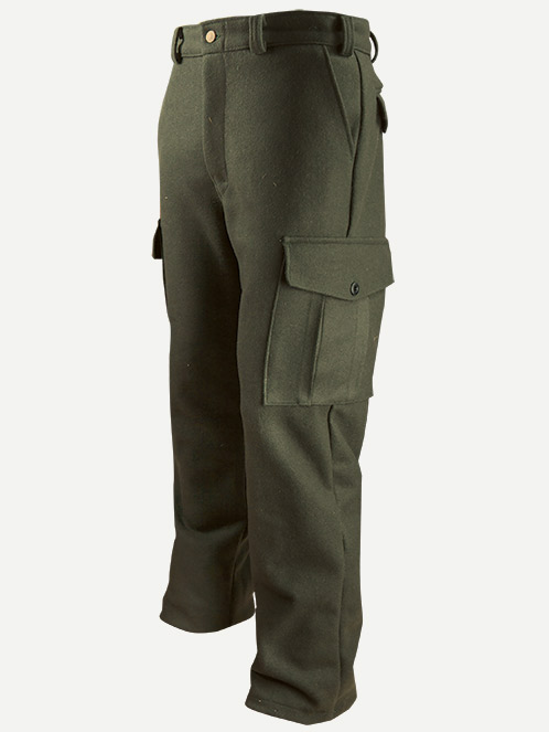 Big Bill 18 Oz. Merino Wool Cargo Hunting & Outdoor Pants