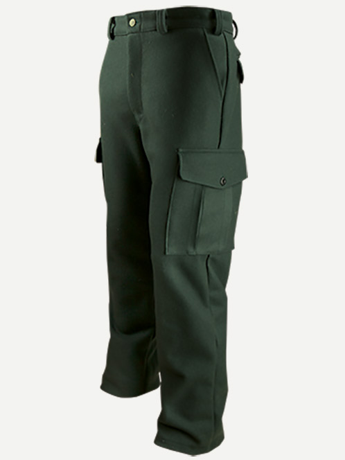 Big Bill Pantalon Cargo en laine 24 Oz.