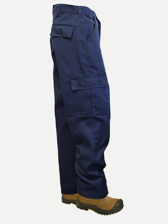 Big Al Poly Cotton Cargo Pants
