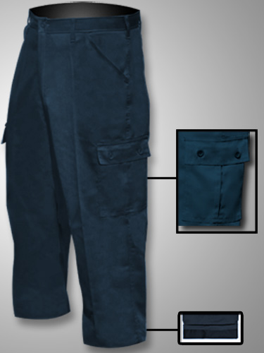 Big Al Lined Poly Cotton Cargo Pants