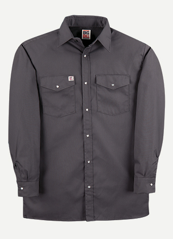 Big Bill Snap Front Closure Work Shirt