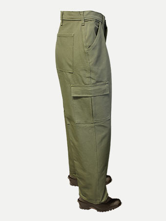 Big Al 100% Cotton Cargo (velcro) Pants
