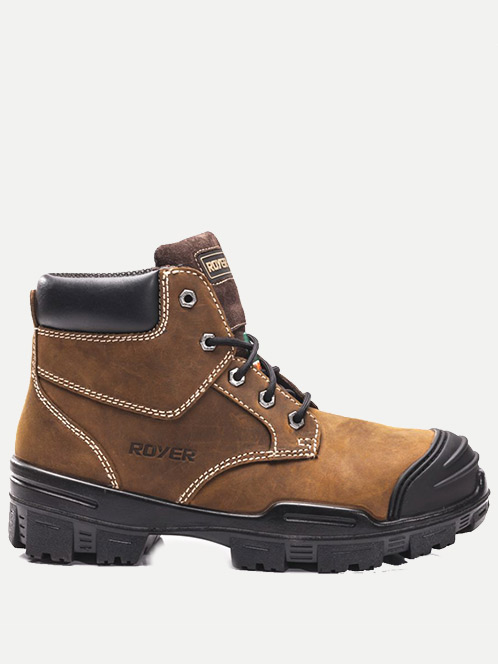 "Royer 6"" Ventura™ Metal-Free Work Boot"
