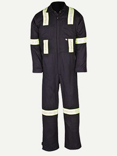 Big Bill Enhanced Visibility 100% Cotton Coverall