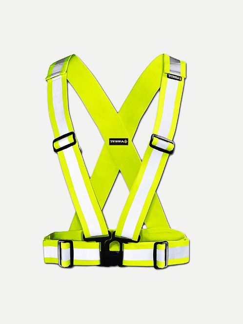 Terra Hi-Vis Snap-on Safety Belt