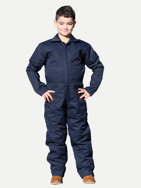 Lined Children's & Toddler Coveralls