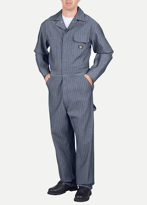 Dickies 100% Cotton Coverall - Fisher Stripe