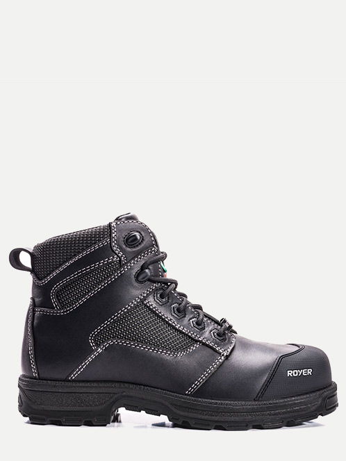 "Royer 6"" Metal-Free Lightweight Leather Work boot"