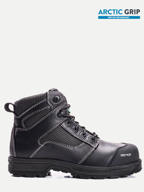 "Royer 6"" Metal-Free Arctic Grip Lightweight Leather Work boot"